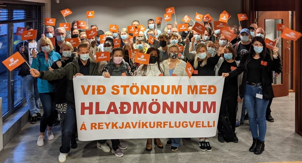 Icelandair attacks a union rep and workers' rights